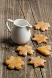 Homemade sugar cookies Royalty Free Stock Photo