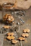 Homemade sugar cookies Stock Photography