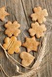 Homemade sugar cookies Stock Photos
