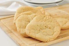 Homemade sugar cookies Stock Images