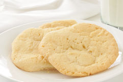 Homemade sugar cookies Royalty Free Stock Photos