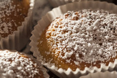 Homemade sugar muffins Royalty Free Stock Photography