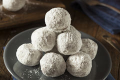 Homemade Sugary Donut Holes. On a Background Stock Image