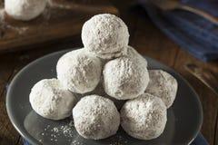 Homemade Sugary Donut Holes Stock Image
