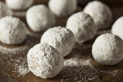 Homemade Sugary Donut Holes Royalty Free Stock Images