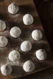 Homemade Sugary Donut Holes Royalty Free Stock Photos