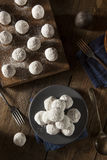 Homemade Sugary Donut Holes Stock Images