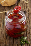 Homemade sun dried tomatoes Royalty Free Stock Image