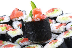 Homemade Sushi Royalty Free Stock Photo