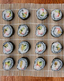 Homemade sushi Stock Photography