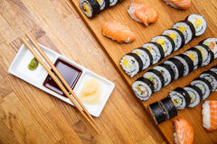 Homemade sushi Royalty Free Stock Photography