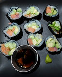 Homemade sushi Royalty Free Stock Image