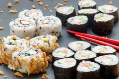 Homemade Sushi Royalty Free Stock Images