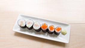 Homemade sushi Stock Photos