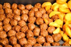 Homemade Swedish Meatballs Royalty Free Stock Photo