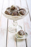Homemade sweet balls Royalty Free Stock Photography
