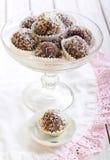 Homemade sweet balls Stock Image