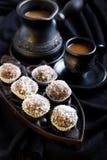 Homemade sweet balls Stock Photo