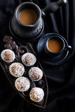Homemade sweet balls Stock Photos