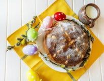 Homemade sweet bread stock image
