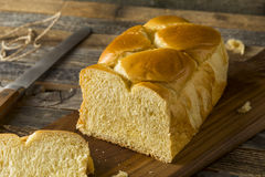 Homemade Sweet Brioche Bread Loaf Royalty Free Stock Image
