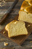 Homemade Sweet Brioche Bread Loaf Stock Images