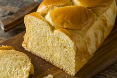 Homemade Sweet Brioche Bread Loaf Royalty Free Stock Photos