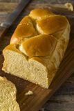 Homemade Sweet Brioche Bread Loaf Stock Photo