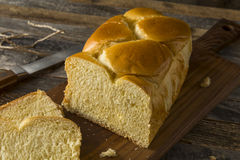 Homemade Sweet Brioche Bread Loaf Royalty Free Stock Photo