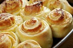 Homemade sweet buns Royalty Free Stock Photo