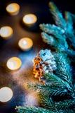 Homemade sweet Christmas tree Royalty Free Stock Photos