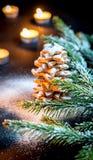 Homemade sweet Christmas tree Stock Image