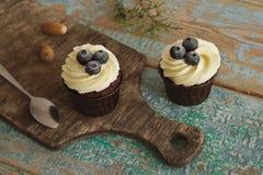 Homemade Sweet Cupcakes. Royalty Free Stock Image