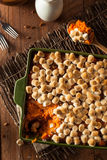 Homemade Sweet Potato Casserole Royalty Free Stock Photo