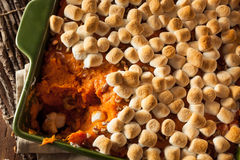 Homemade Sweet Potato Casserole Royalty Free Stock Image