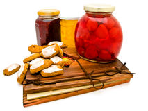Homemade sweets Stock Photo