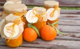 Homemade tangerine marmalade Stock Image