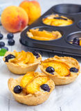 Homemade tartlets Royalty Free Stock Image