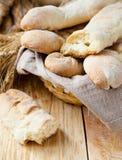 Homemade tasty bread baguette Stock Photo