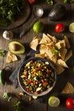 Homemade Texas Caviar Been Dip Stock Image