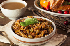 Homemade Thanksgiving Day Stuffing Stock Image