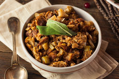 Homemade Thanksgiving Day Stuffing Royalty Free Stock Image