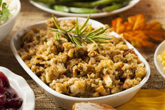 Homemade Thanksgiving Stuffing Stock Photos