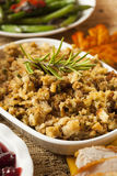 Homemade Thanksgiving Stuffing Royalty Free Stock Photo