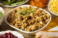Homemade Thanksgiving Stuffing Royalty Free Stock Image