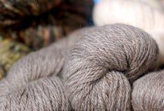 Homemade thread bunches Stock Photo