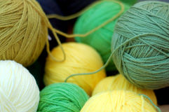 Homemade thread bunchs Royalty Free Stock Images