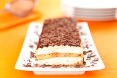 Homemade tiramisu Royalty Free Stock Photography