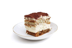 Homemade tiramisu Stock Image