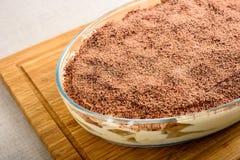 Homemade Tiramisu Cake Royalty Free Stock Images